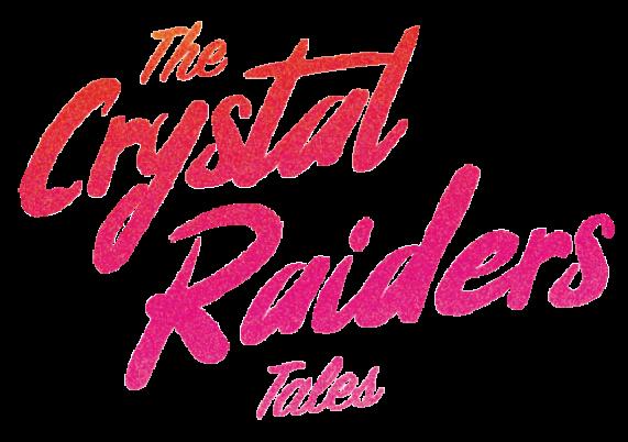 The Crystal Raiders Tales Logo Retina
