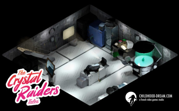 Secret place - The Crystal Raiders Tales
